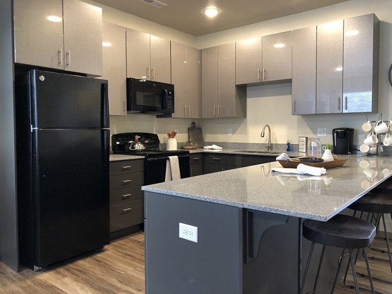 Fully Equipped Kitchen | Majestic Townhomes