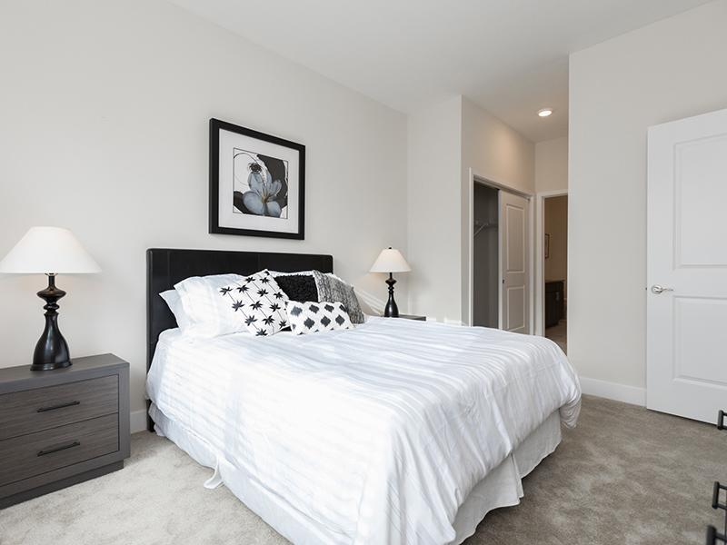 Model Bedroom   222 Park Place Apartments
