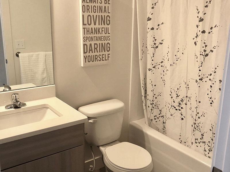 Bathroom | Porter Ranch Apartments in Eagle Mounta