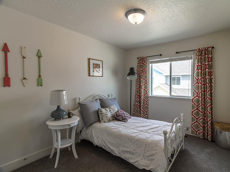 Bedroom | Smithfield Station Townhomes