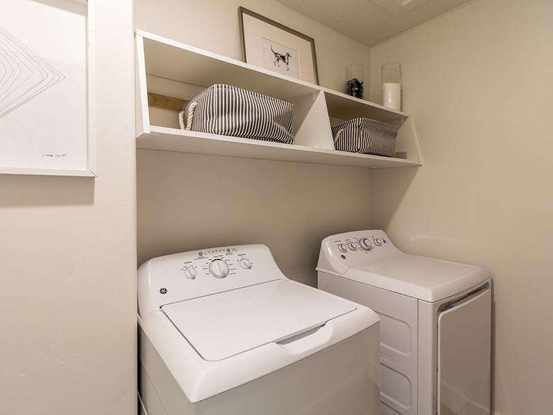 Laundry | Smithfield Station Townhomes