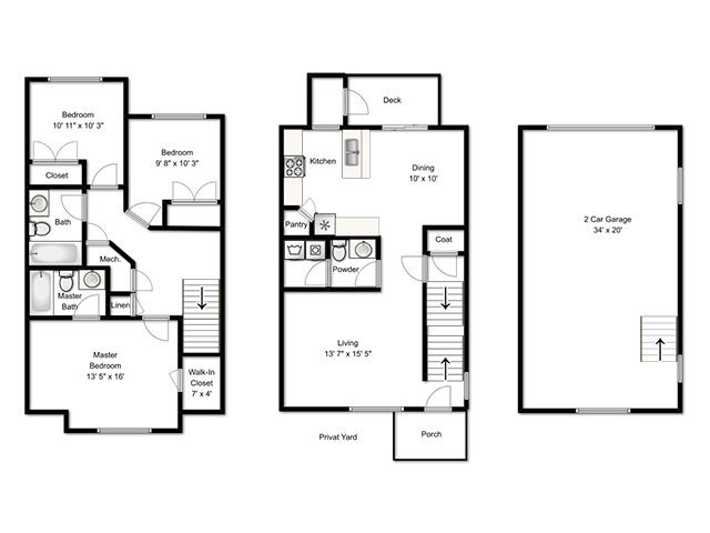3x2.5A END, VW apartment available today at South Ridge in South Jordan
