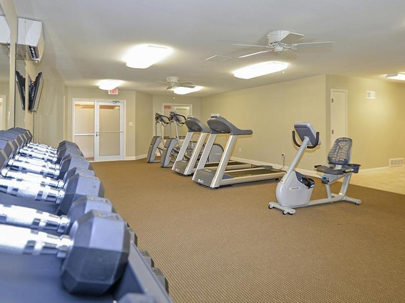 Fitness Center | Village 1 Apartments
