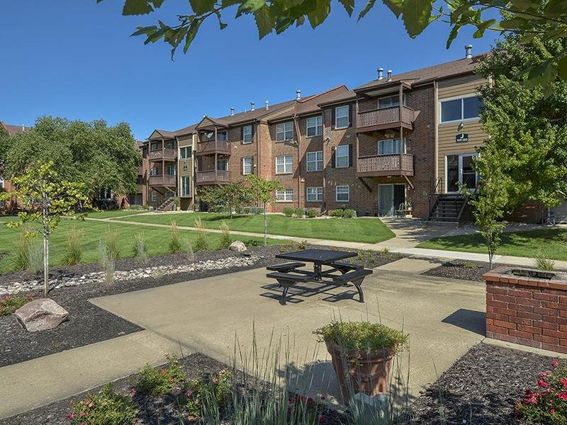Beautifully Landscaped | Village 1 Apartments