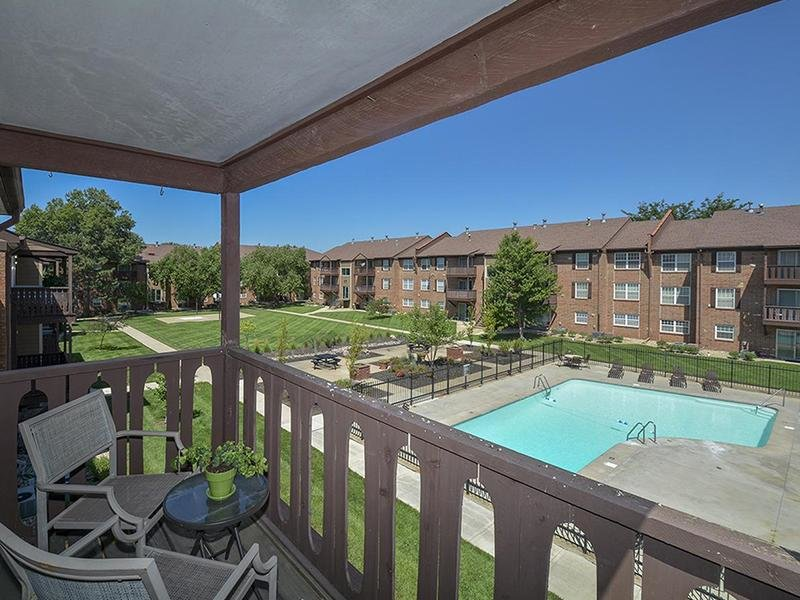 Balcony View | Village 1 Apartments