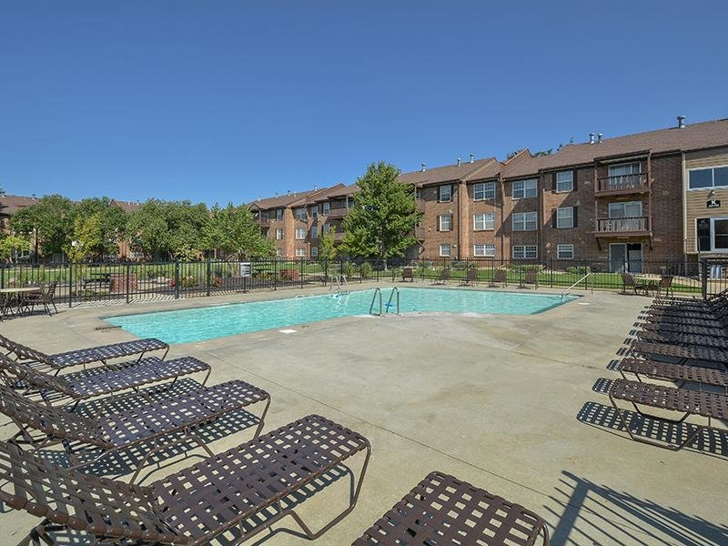 Sparkling Pool | Village 1 Apartments