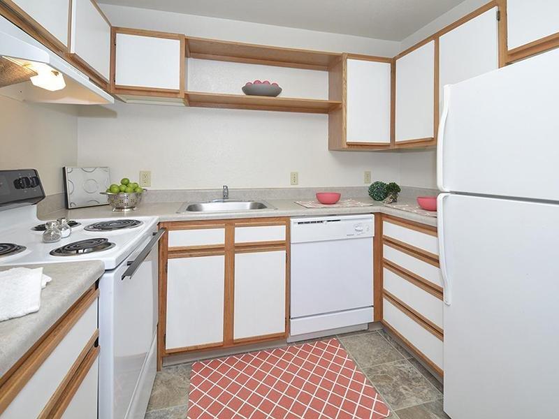 Kitchen | Village 1 Apartments