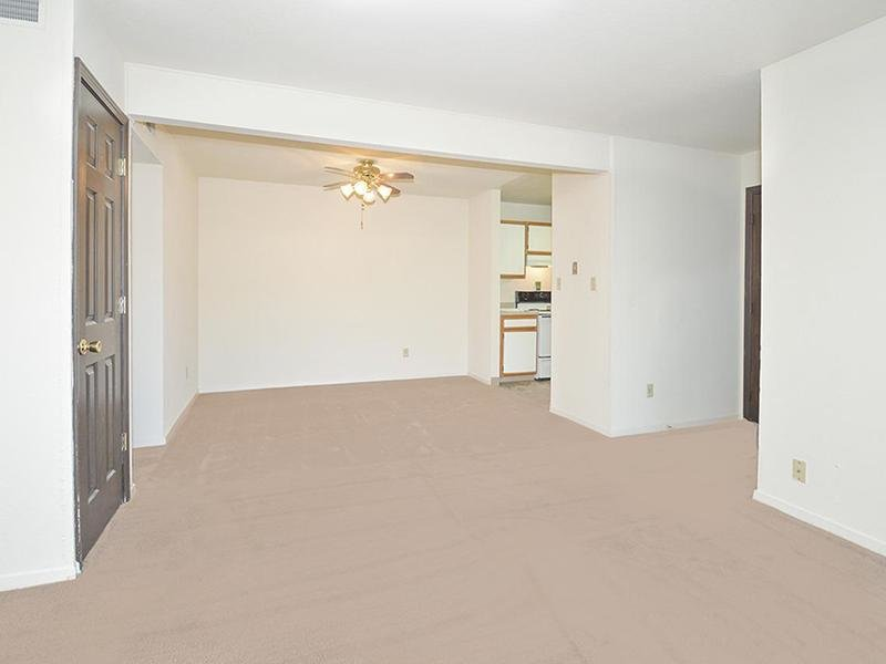 Living Room | Village 1 Apartments