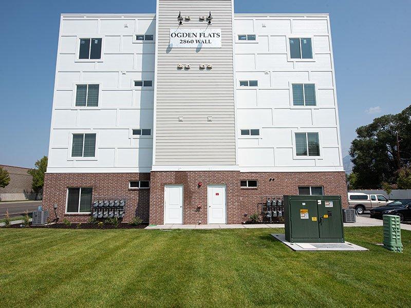 Landscaping   Ogden Flats Apartments in Ogden, UT