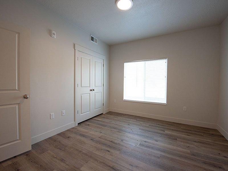 Bedroom Closet   Ogden Flats Apartments in Ogden, UT