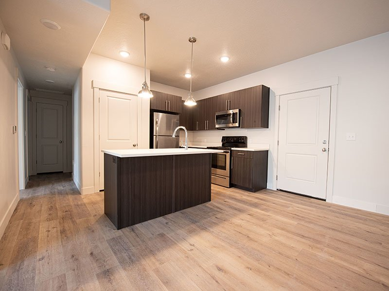 Kitchen   Ogden Flats Apartments in Ogden, UT