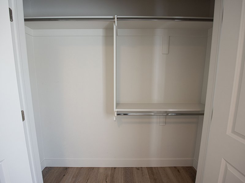 Closet   Ogden Flats Apartments in Ogden, UT