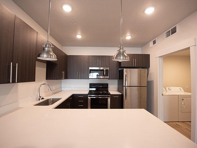 Spacious Kitchen   Ogden Flats Apartments in Ogden, UT
