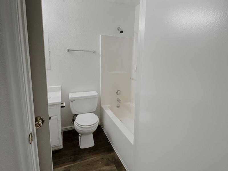 Bathroom | North Pointe Apartments in Logan