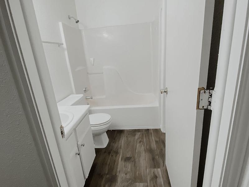 Bathroom | North Pointe Apartments