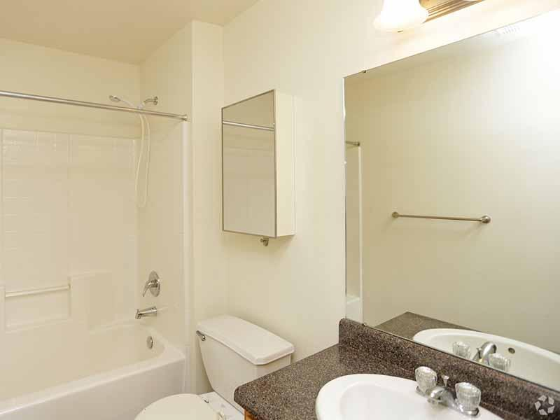 Bathroom | Bridger Pointe Apartments