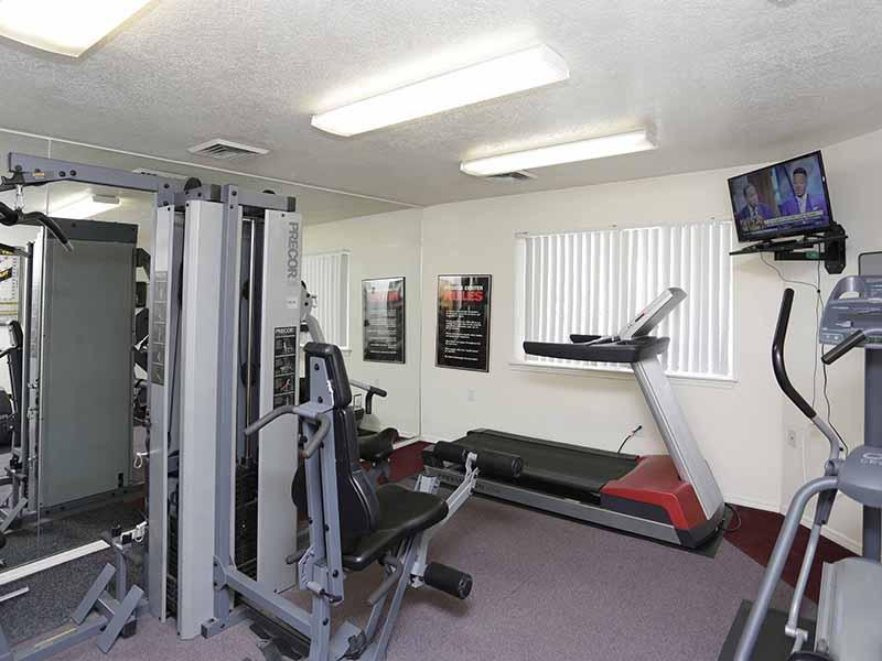 Fitness Center | Bridger Pointe Apartments