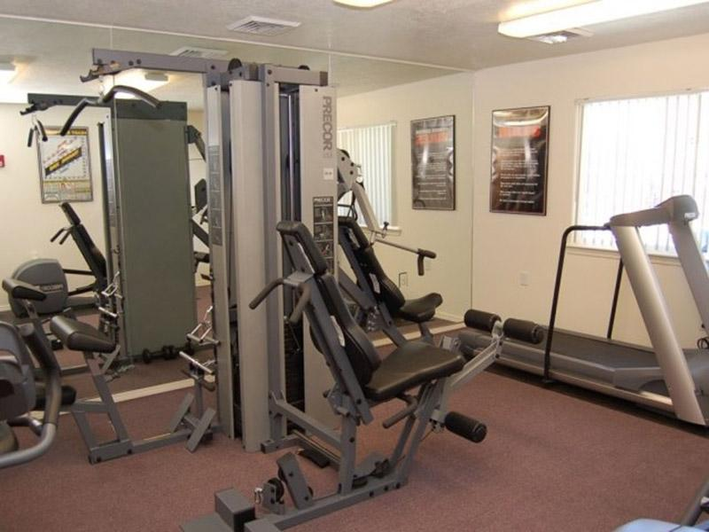 Gym | Bridger Pointe Apartments