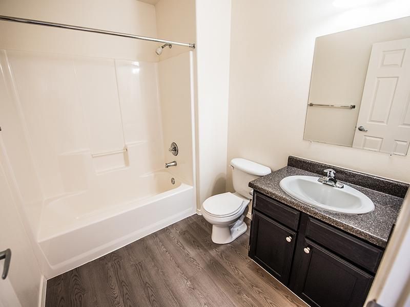 Renovated Bathroom | Oasis Palms