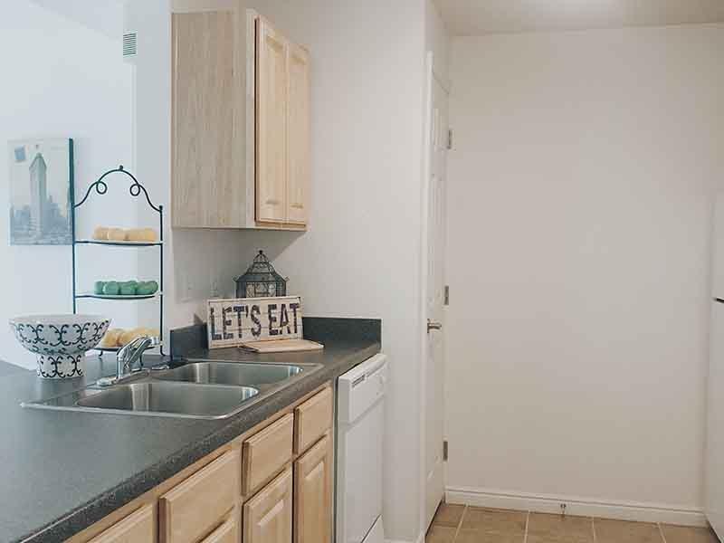 Kitchen | Village on Main Street Apartments in Bountiful, UT