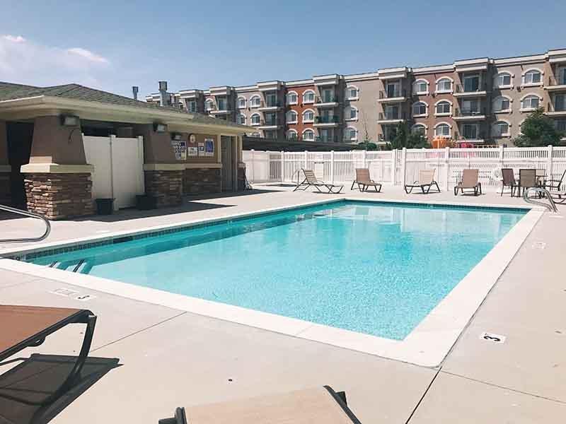 Swimming Pool | Village on Main Street Apartments in Bountiful, UT