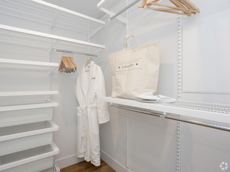 Closet Space | The Kodo Apartments