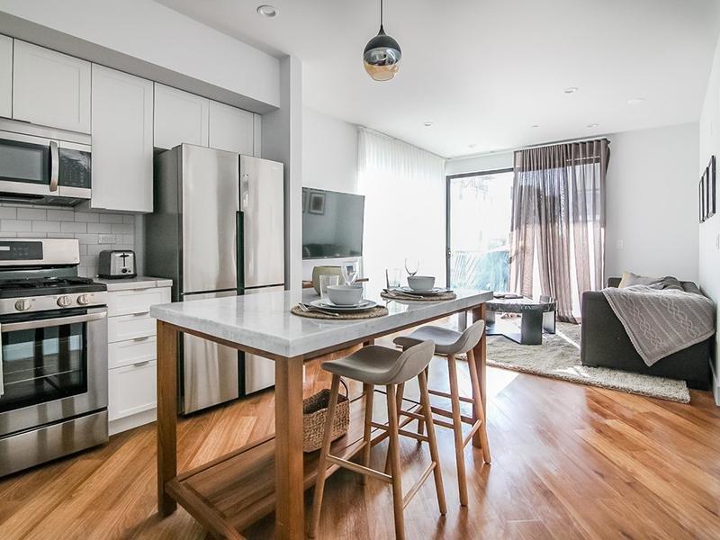 Kitchen Island | The Kodo Apartments