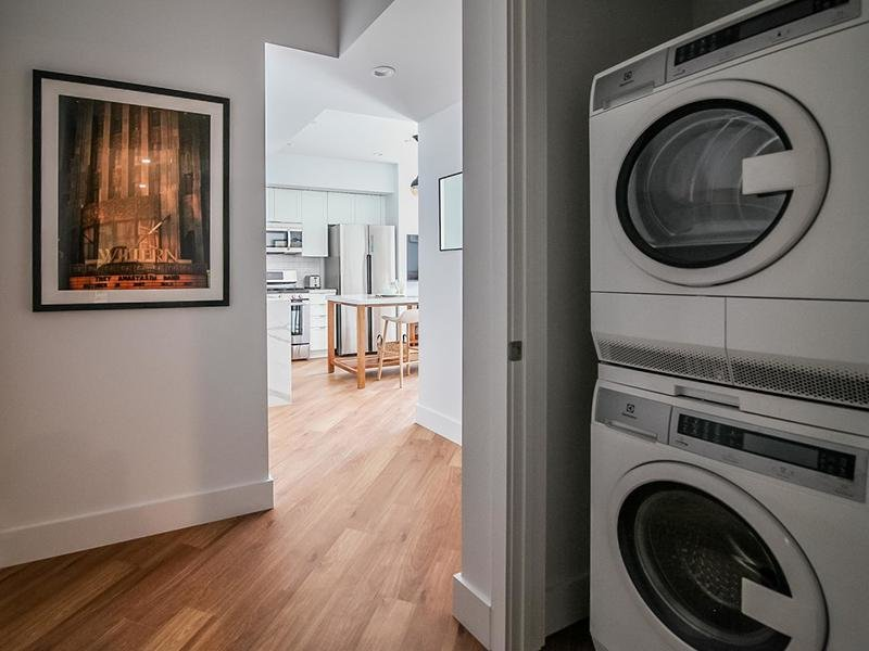 Washer & Dryer | The Kodo Apartments