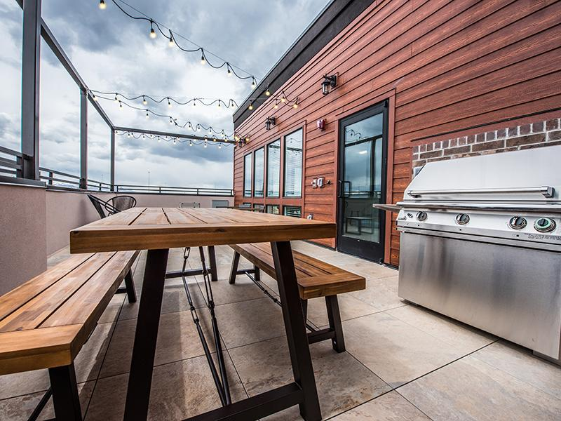 Balcony Lounge | 2100 Apartments