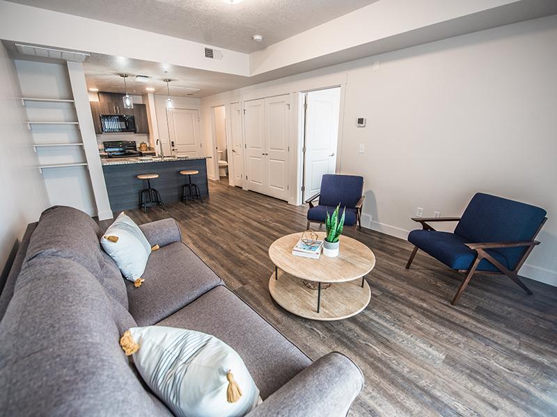 Living Room | 2100 Apartments