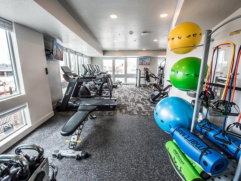 Fitness Center  | 2100 Apartments in Salt Lake CIty