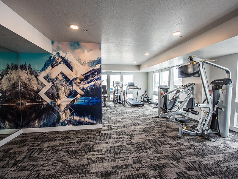 Gym | 2100 Apartments