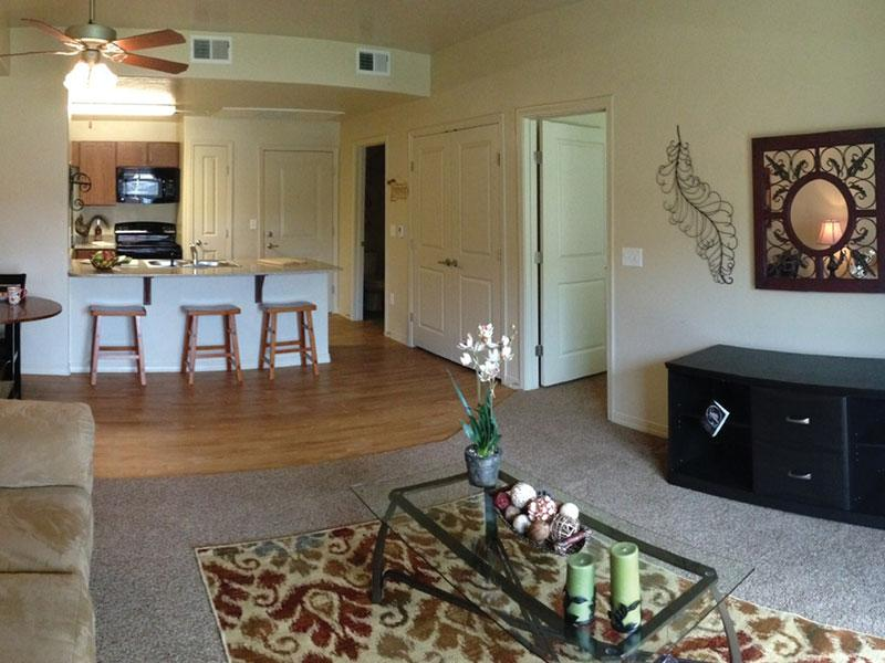 Living Room | Wasatch Pointe