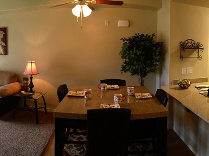 Dining area | Wasatch Pointe Senior