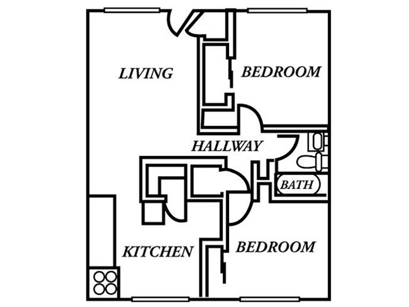2 Bedroom 1 Bathroom in Salt Lake City, UT