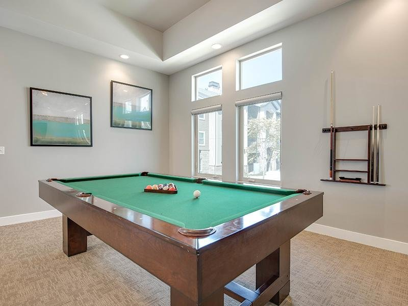 Pool Table | The Cove at Overlake