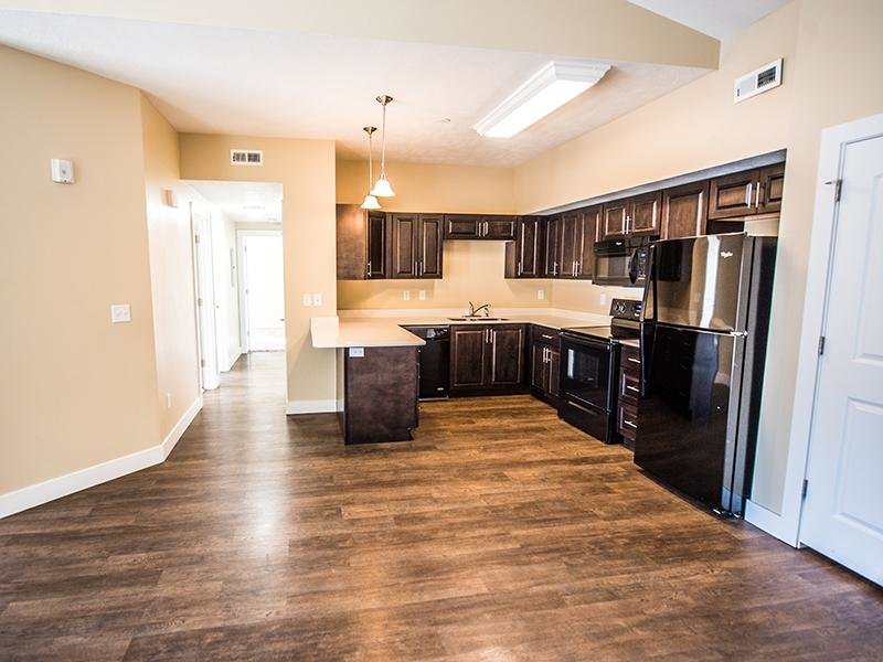 Kitchen | The Cove at Overlake Apartments