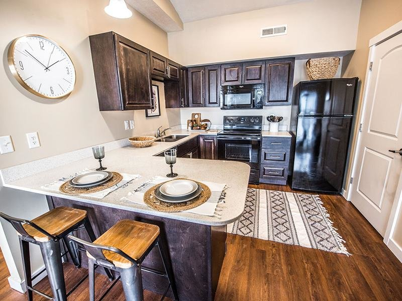 Model Kitchen  | The Cove at Overlake