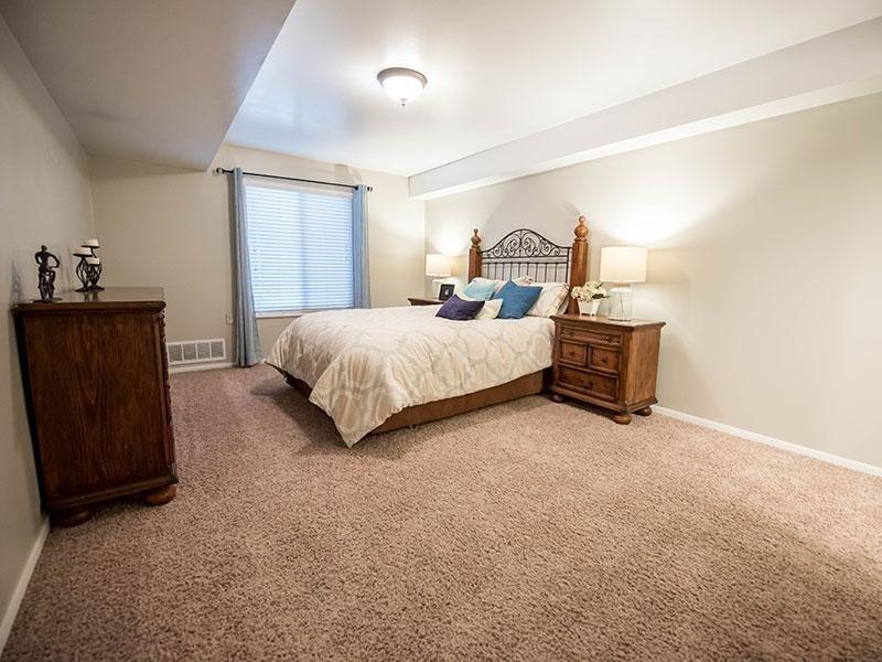 Spacious Master Bedroom | Miller Estates Apartments