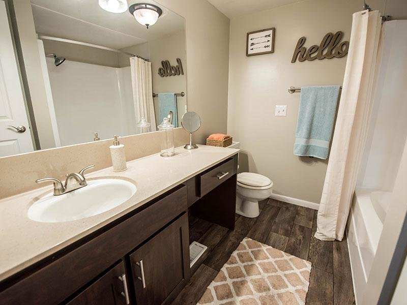 Large Master Bathroom | Miller Estates Apartments