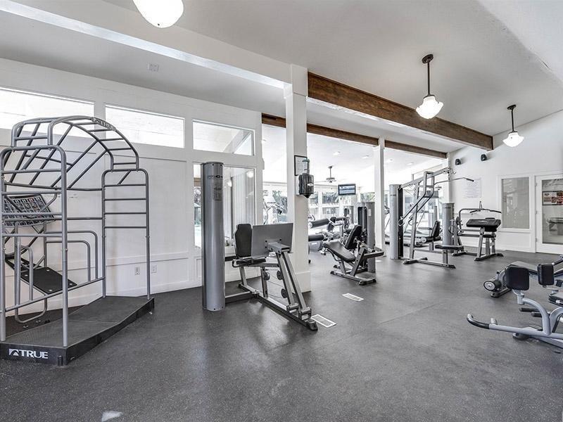 Fitness Center at Miller Estates Apartments
