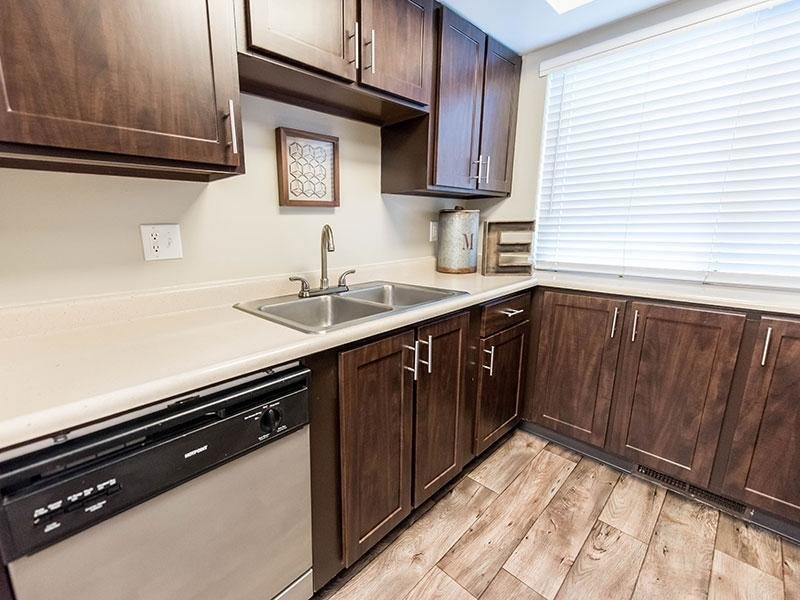 Apartment Kitchen With Personal Amenities | Miller Estates Apartments
