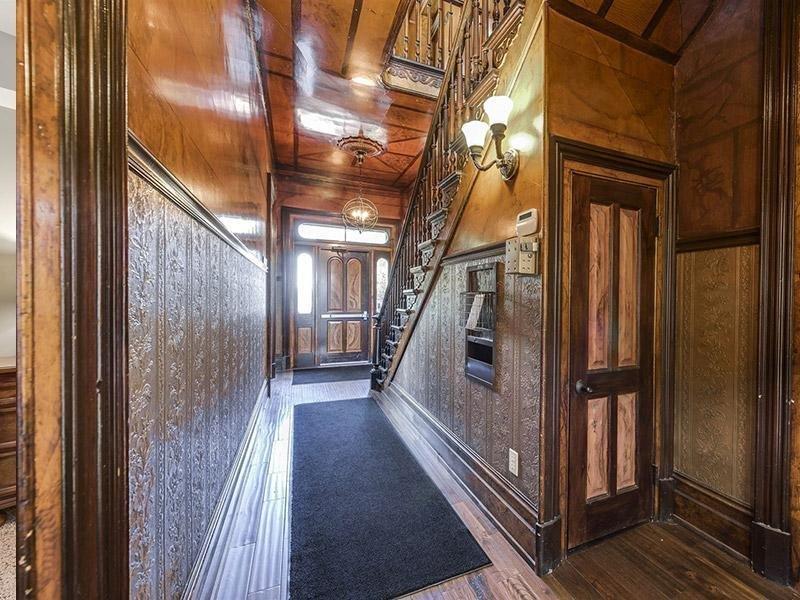 Miller Estates Clubhouse Stairway