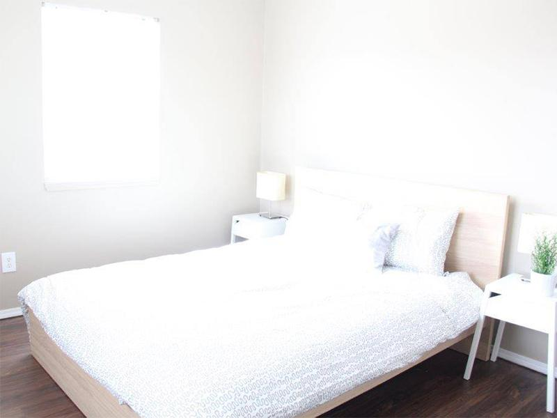 Bedroom | Palisades Park Apartments
