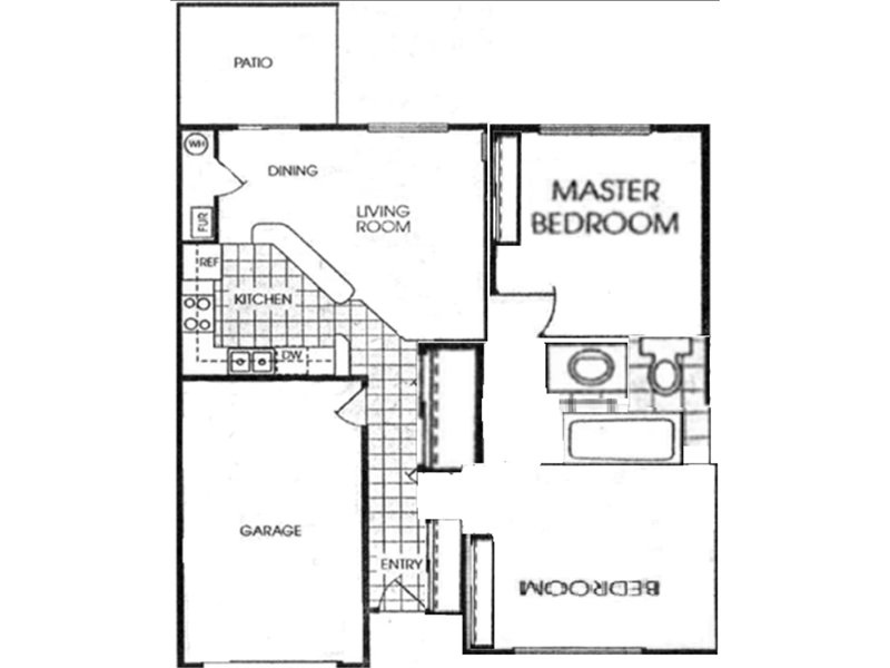 2 Bedroom 1 Bathroom in West Valley City, UT