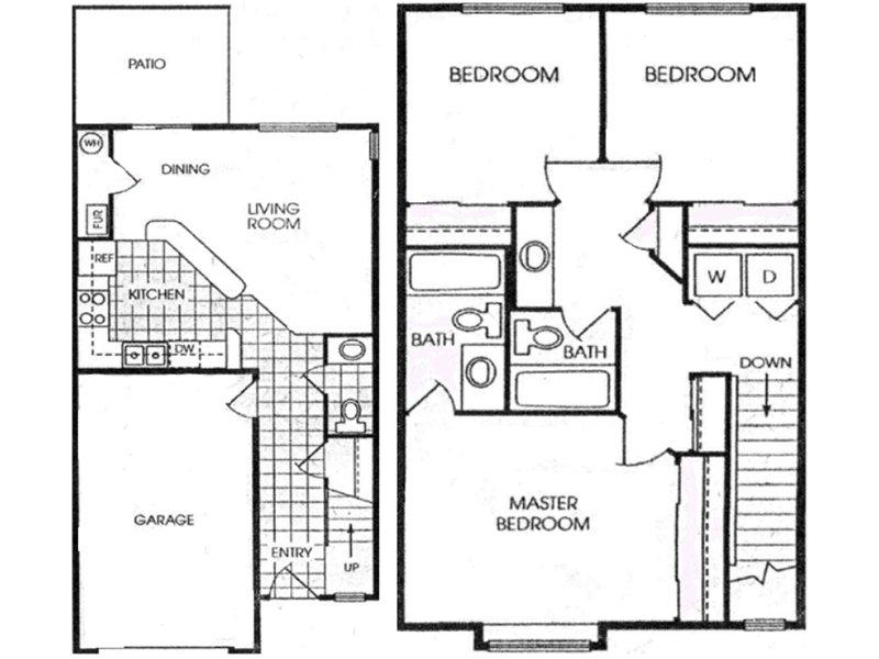 3 Bedroom 2.5 Bathroom in West Valley City, UT