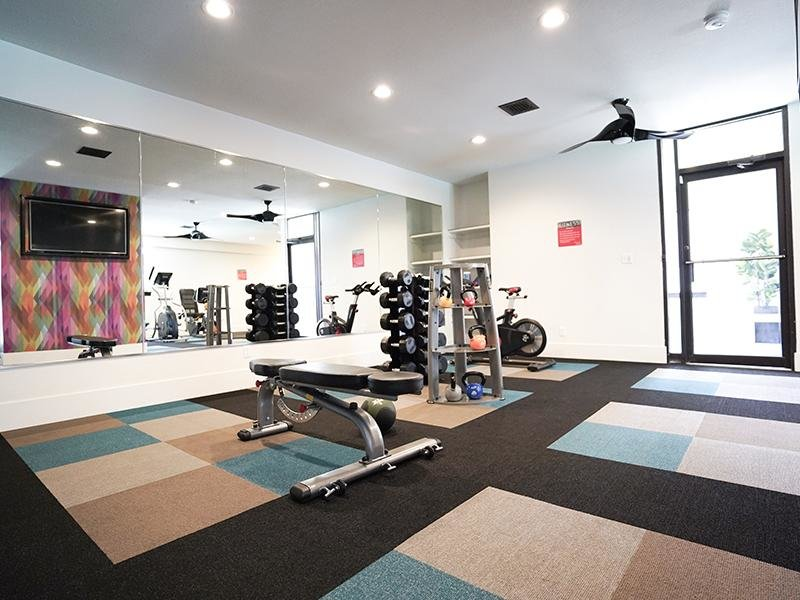 Gym | Goldstone Place Apts