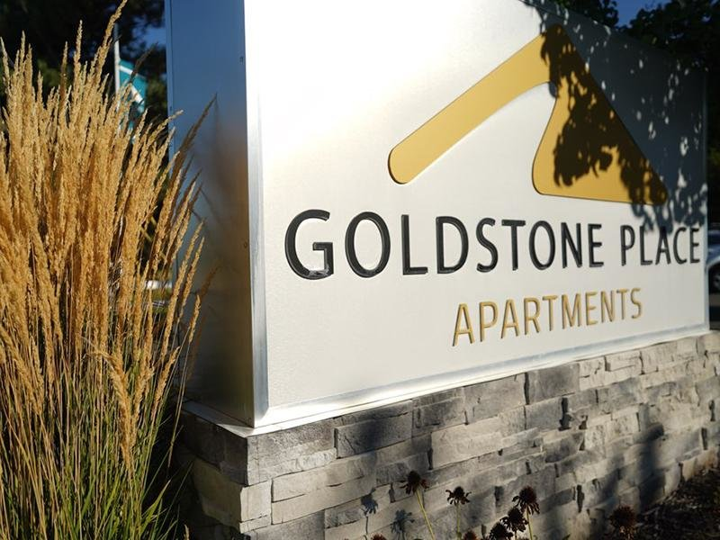 Sign | Goldstone Place Apts