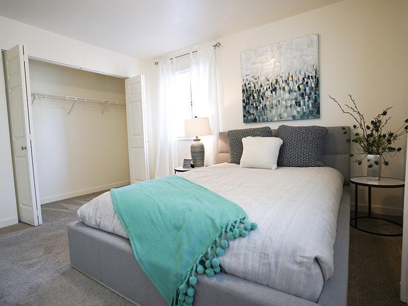 Bedroom | Goldstone Place Apts