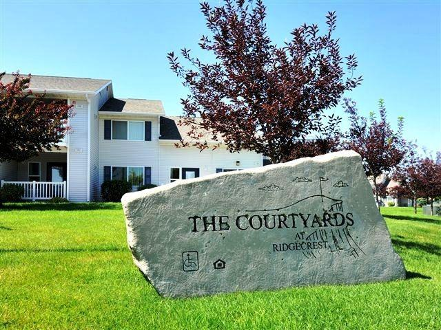Welcome Sign | Courtyard at Ridgecrest
